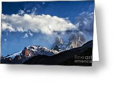 Mount Fitz Roy Greeting Card