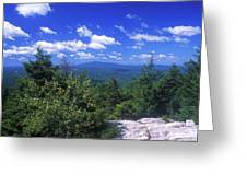 Mount Monadnock From Pack Monadnock Greeting Card