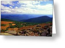 Mount Moosilauke Summit  Greeting Card