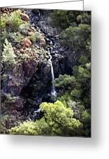 Mountain Cascade Greeting Card