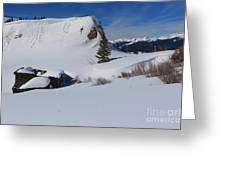 Mountain History Greeting Card