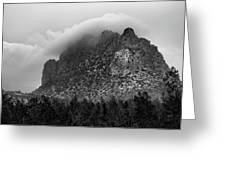 Mountain Landscape Greeting Card by Michalakis Ppalis