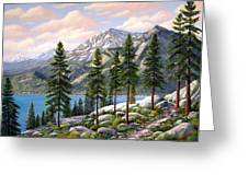 Mountain Trail Greeting Card