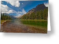 Moutain Lake Greeting Card