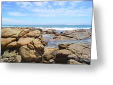 Mouth Of Margaret River Beach IIi Greeting Card
