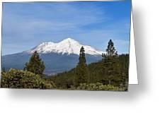 Mt Shasta Greeting Card