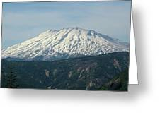 Mt St Helens  Greeting Card