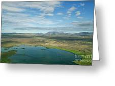 Beautiful Myvatn, Iceland Greeting Card