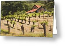 Napa Barn Greeting Card