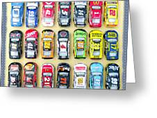 Nascar Collection Greeting Card
