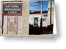 National Warehouse Corp Greeting Card