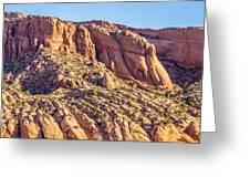 Navajo National Monument Canyons Greeting Card