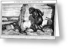 Neanderthal Man Greeting Card