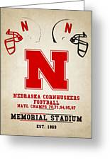 Nebraska Cornhuskers Greeting Card