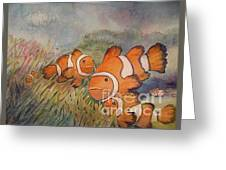 Nemo And Friends Greeting Card