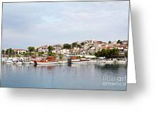 Neos Marmaras Sithonia Halkidiki Greece Greeting Card
