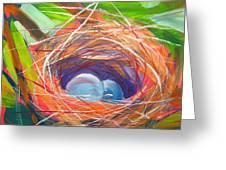 Nest Of Prosperity 6 Greeting Card