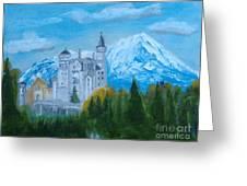 Neuschwanstein Castle In Bavaria Greeting Card