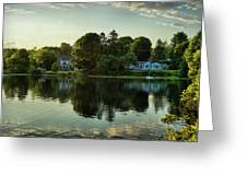 New England Scenery Greeting Card