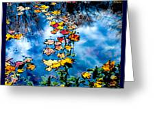 New England Water Color Greeting Card