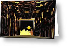 New Horizons Greeting Card