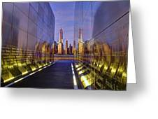 New Jersey Empty Sky 9-11 Memorial Greeting Card