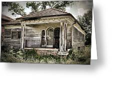 New Orleans House No. 7 Greeting Card