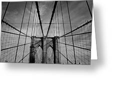 New York City - Brooklyn Bridge Greeting Card