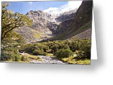 New Zealand Landscape Greeting Card