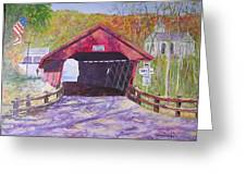Newfield Bridge Greeting Card