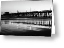 Newport Beach Pier At Sunrise Greeting Card