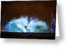 Niagara Falls Water Show Greeting Card