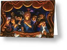Night At The Paris Opera Greeting Card
