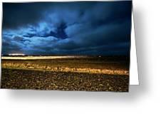 Icelandic Night  Greeting Card