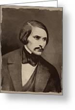 Nikolai Gogol Greeting Card