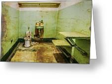 Alcatraz Cell 1 Greeting Card