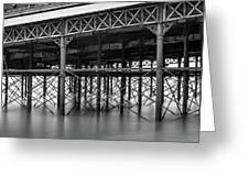 North Pier Blackpool Greeting Card