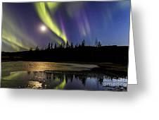Northern Lights Thingvellir Greeting Card
