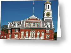 Norwich City Hall Greeting Card