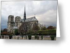 Notre Dame Cathedral In Paris, France Greeting Card