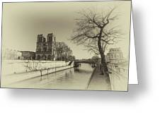 Notre Dame Of Paris Greeting Card