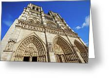 Notre Dame Paris Greeting Card