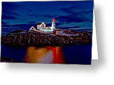 Nubble Light Greeting Card
