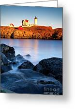 Nubble Lighthouse Greeting Card