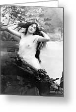 Nude Model, 1903 Greeting Card