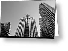 Nyc Buildings Greeting Card