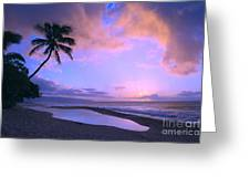 Oahu, North Shore Greeting Card