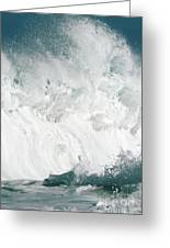 Oahu Wave Greeting Card