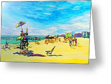 ocean/ Beach Greeting Card