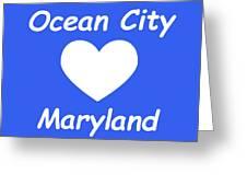 Ocean City Maryland Greeting Card